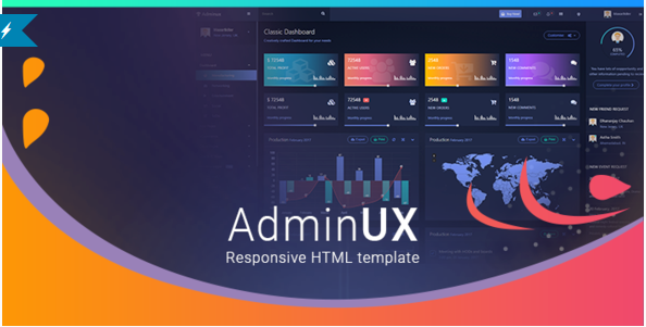 35+ Best HTML Admin Templates 2018 for developers