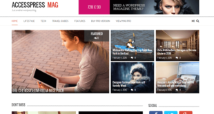 Free WordPress Magazine Themes