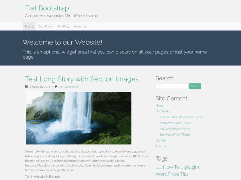 Flat Bootstrap