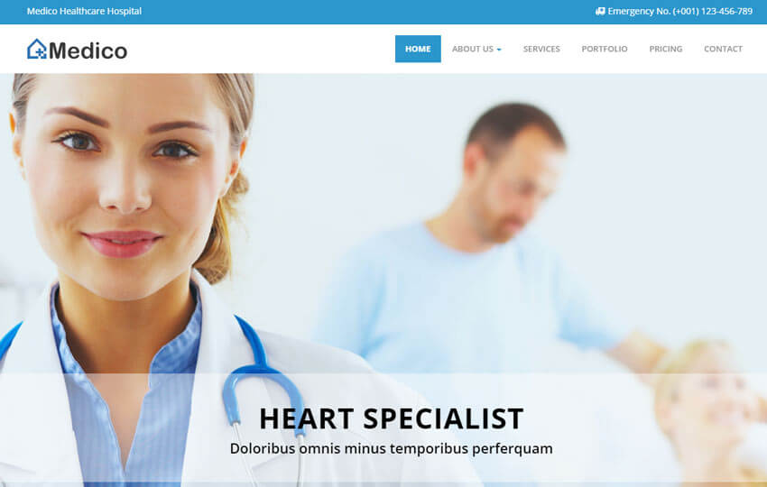 Medico Responsive Medical And Health
