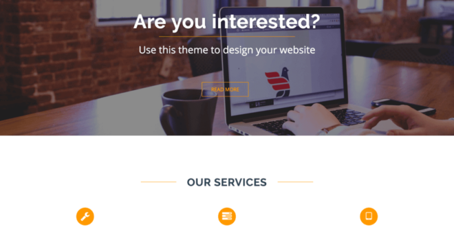 Free One Page WordPress Themes
