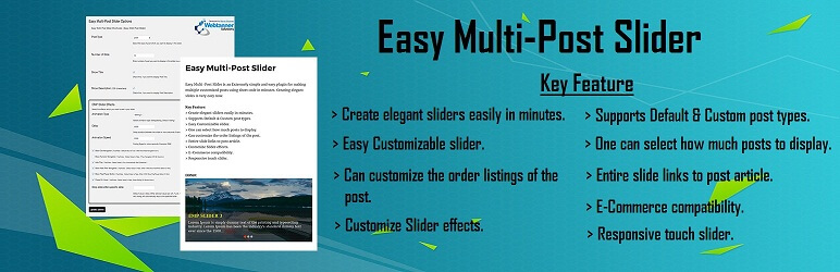 Easy Multi-Post Slider