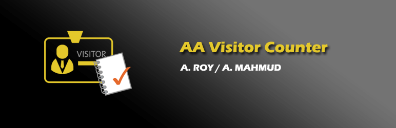 AA Visitor Counter Widget
