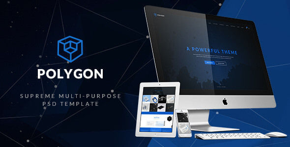 Unique - Creative Multi-Purpose PSD Template