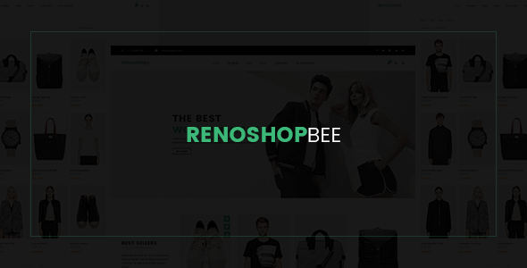 Roneshopbee - eCommerce PSD Template