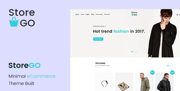 ShopGo - eCommerce PSD Template