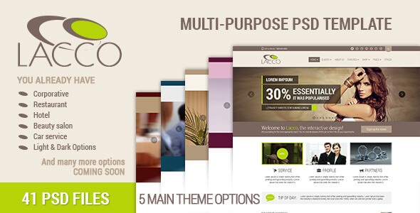 MAISON – Minimalist eCommerce PSD Template