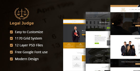 ELEGANT | Creative Agency PSD Template
