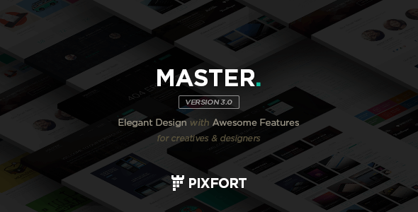 MASTER - Corporate Multipurpose PSD Template