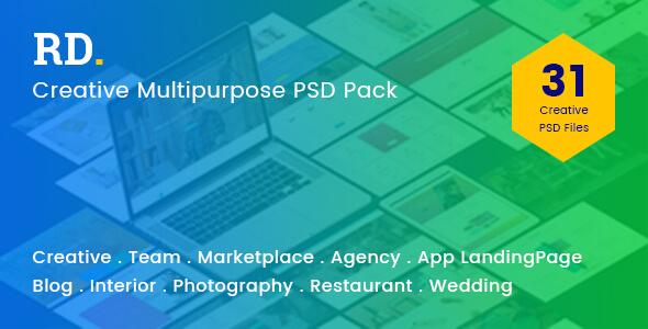 RD Multipurpose PSD Template