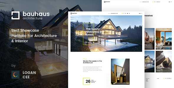 Bauhaus | Architecture & Interior PSD Template