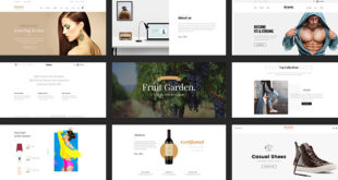 latest Retail PSD Templates
