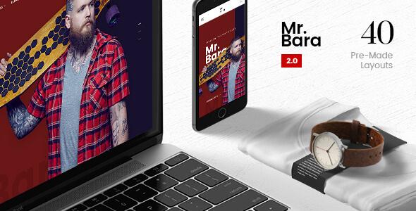 Mr.Bara | A Premium Multi-Ecommerce PSD Template