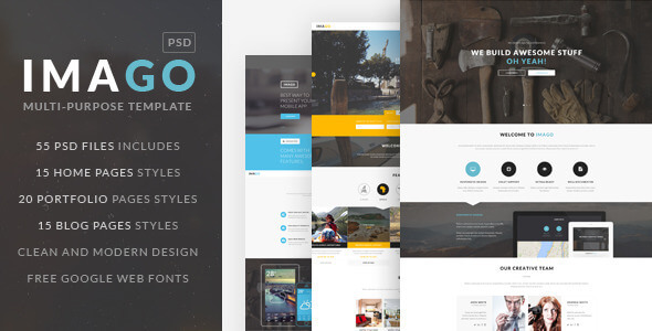 IMAGO | Multipurpose PSD Template