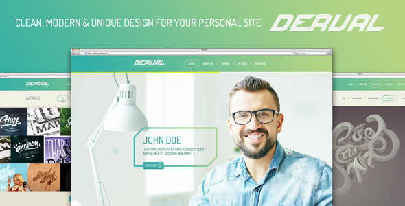 Derval PSD Template