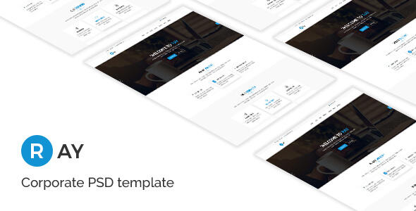 Ray - Corporate PSD Template