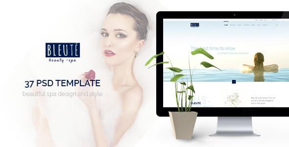 Bleute - Beauty | Spa | Hair | Wellness/Salon PSD