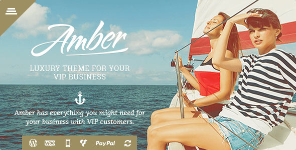 Amber - Tourism Travel WordPress Theme