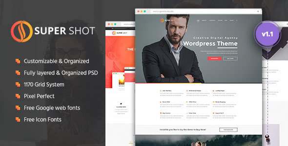 GOAT | Responsive Multi-Purpose PSD Template