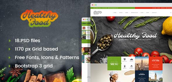 Healthy Food - Organic & Eco Restaurant