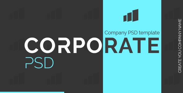 CorpoRate - PSD Template