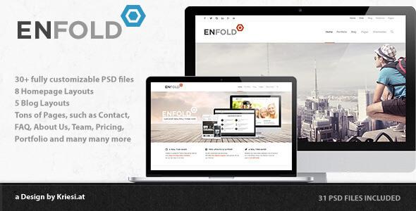 Enfold - PSD