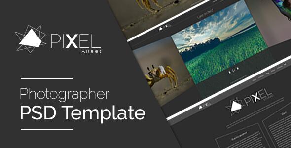 Pixel Studio - PSD Template
