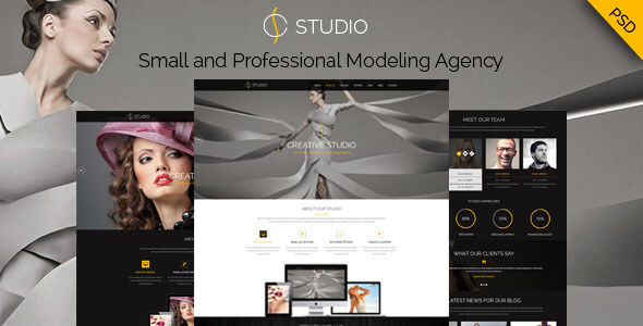 Creative Studio - PSD Template