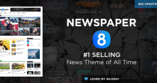 News Paper WordPress Themes