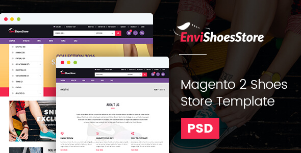 Magento2 Shoes Store Template