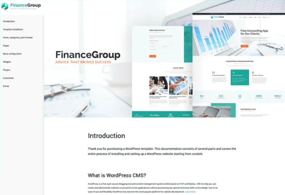 FinanceGroup - Accounting & Finance Business WordPress Theme