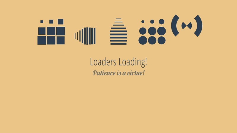 #Loaders Loading!