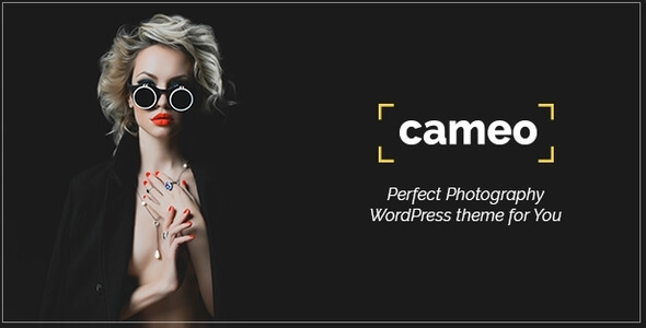 Cameo Photography - Photography WordPress