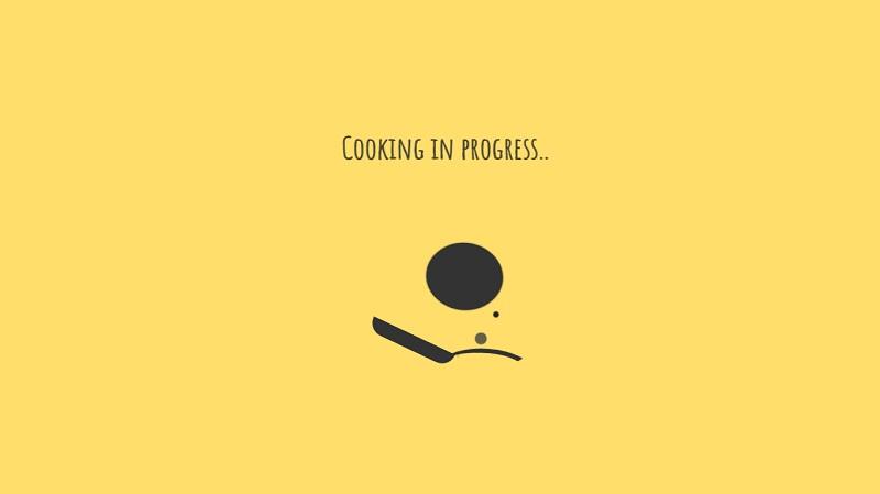 'Making pancake' loader