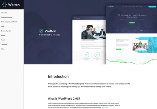 Walton - Finance & Consulting Corporate WordPress Theme