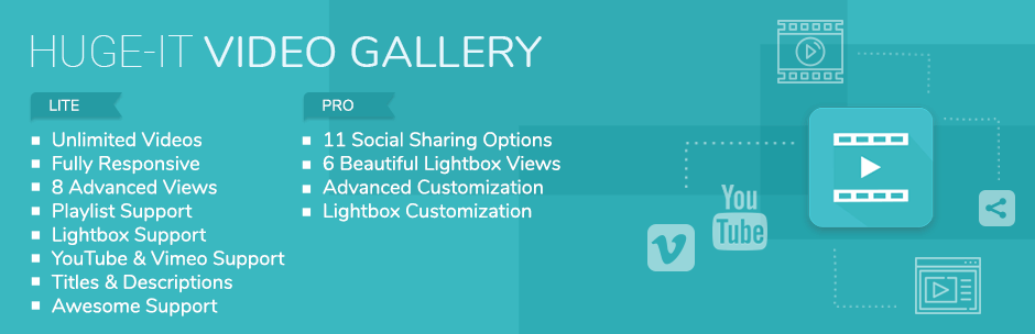 Gallery – Video Gallery and Youtube Gallery