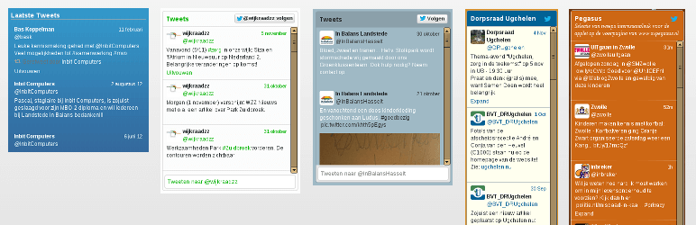 Twitter Widget with Styling
