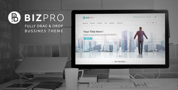 BizPro Business - Business Theme + RTL
