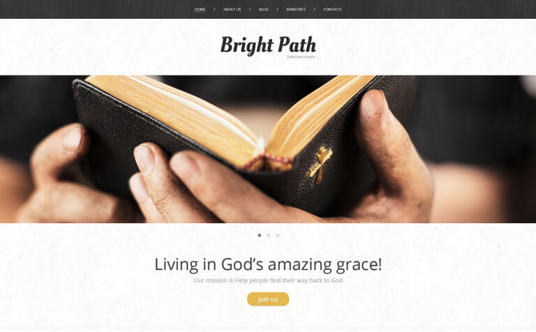 Church Web Presence WordPress Theme
