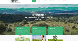 Environment WordPress Themes
