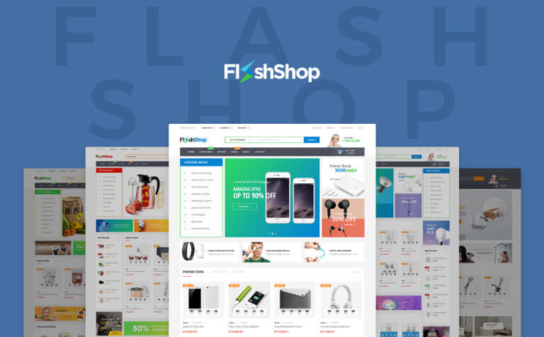 Flashshop - Multipurpose Premium WordPress Theme