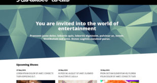 Entertainment WordPress Themes