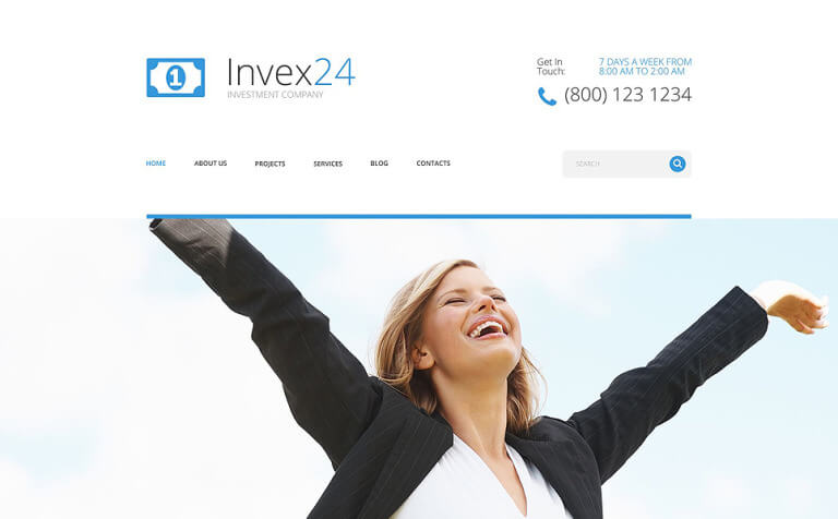 Invex24 WordPress Theme