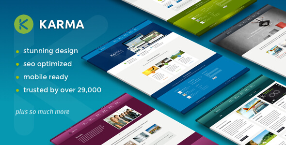 Karma - Responsive WordPress Theme