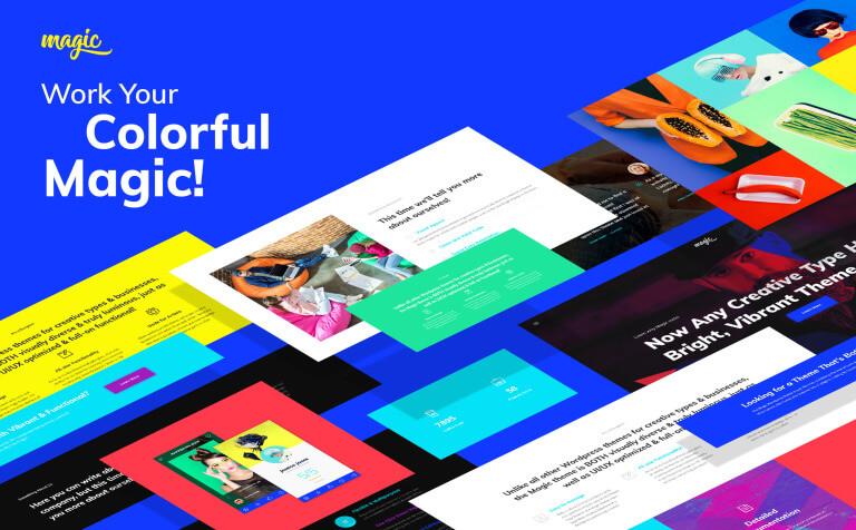 Magic – Multipurpose Creative WordPress Theme
