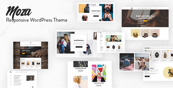 Moza - Minimal WooCommerce WordPress Theme