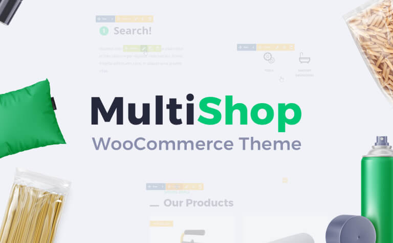 Multishop - Responsive WooCommerce WordPress Theme