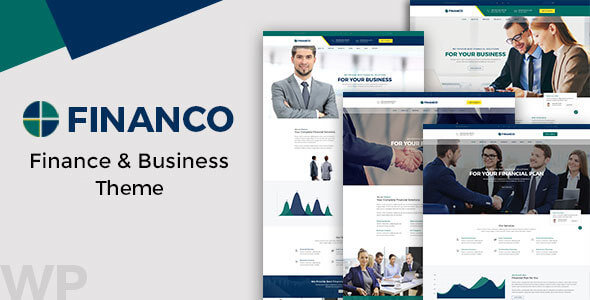 Financo - Finance & Investment WordPress Theme