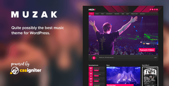 Get Latest 20+ Best Music WordPress Themes of 2019