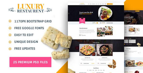 Restaurant : luxury restaurant